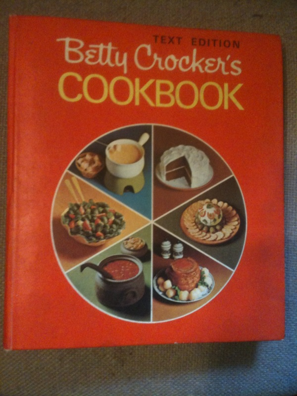 "Betty Crocker's Cookbook (""pie"" cover )"