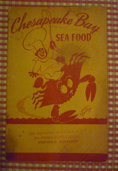 Chesapeake Bay Seafood (Chesapeake Bay Cook Book) - 1940