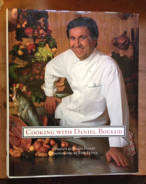 Cooking with Daniel Boulud - signed