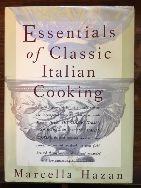 Essentials of Classic Italian Cooking - pristine condition