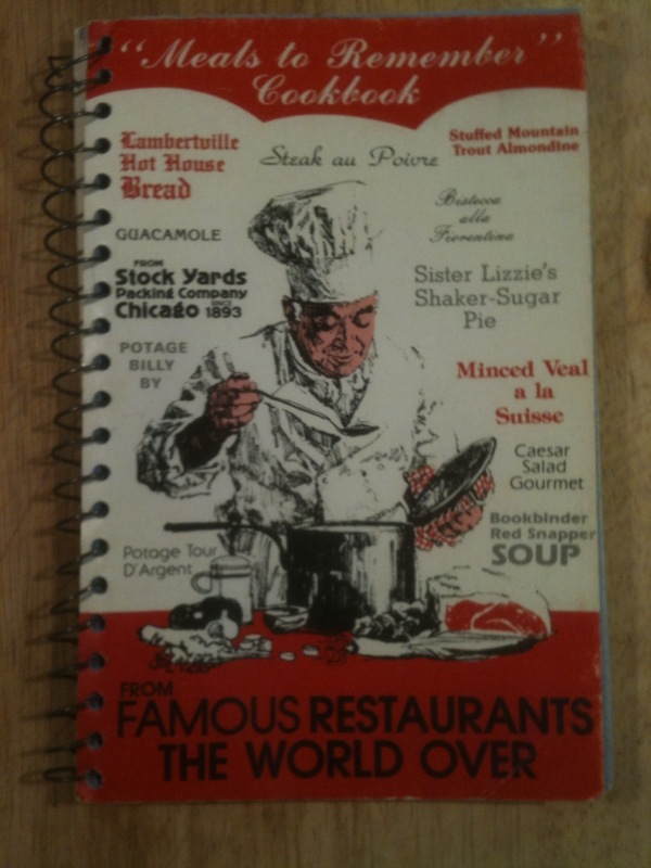 """Meals to Remember"" Cookbook (Mostly Beef)"
