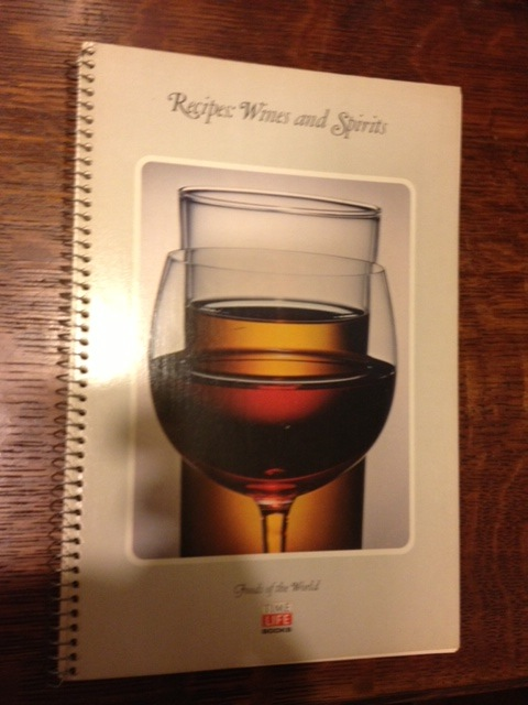 Recipes: Wines and Spirits
