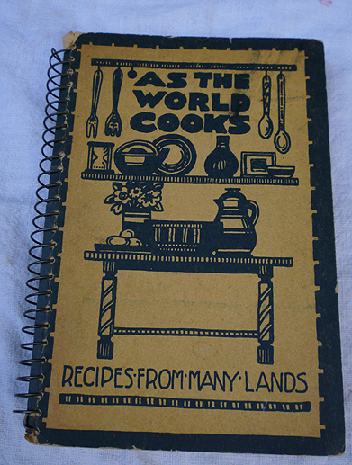 As The World Cooks -- Recipes From Many Lands (1948)