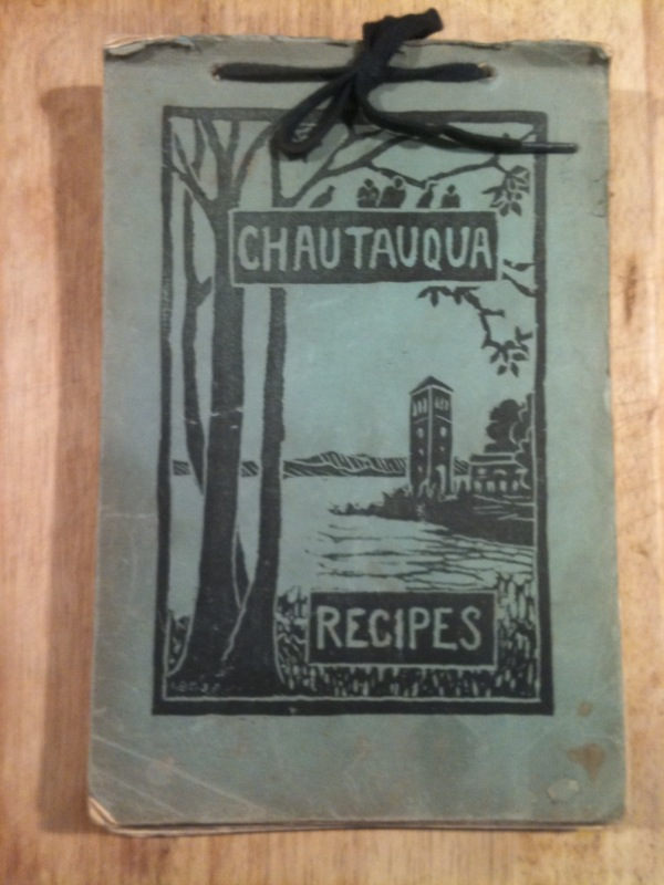 Chautauqua Recipes - By The Chautauqua Bird and Tree Club (1934)