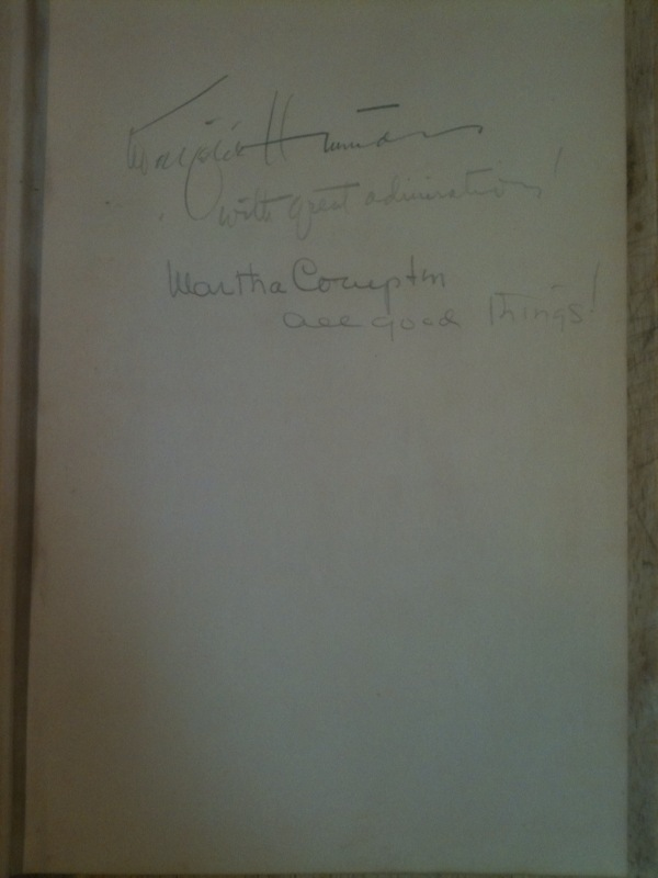Community Fare Cookbook - Geneva, IL signed, 1951