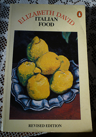 Italian Food - Elizabeth David 1987 Penguin UK edition