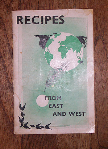 Recipes East and West (South Africa, 1950s)