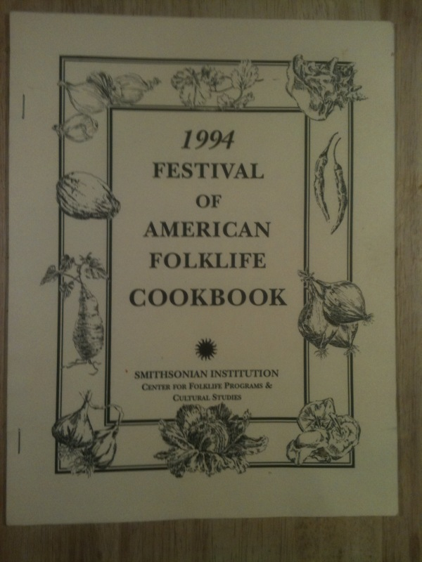 1994 Festival of American Folklife Cookbook - Bahaman, Thai