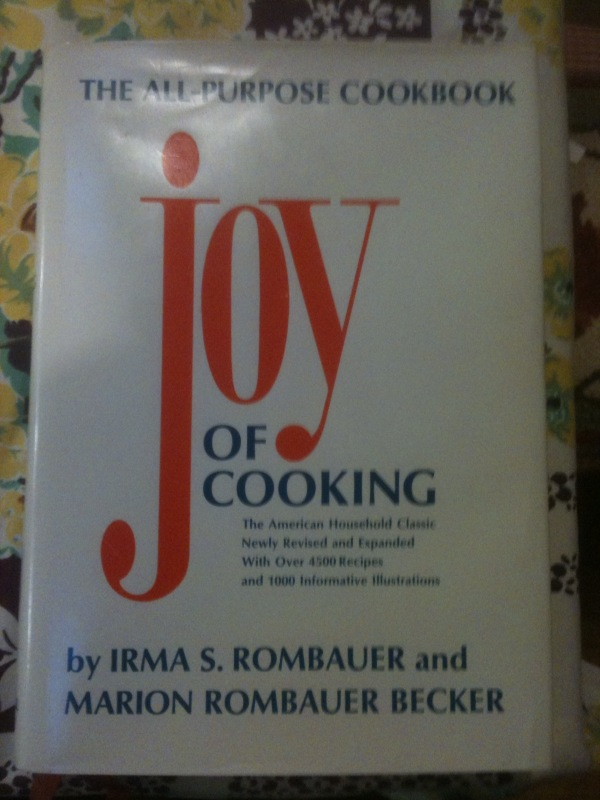 Joy of Cooking with DJ (pristine '67 printing of '62 edition)