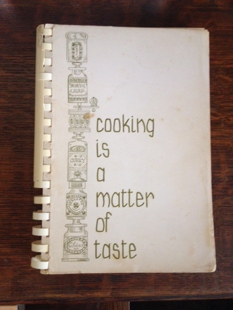 Cooking Is A Matter of Taste (Canton Ohio) - rev. ed. 1970