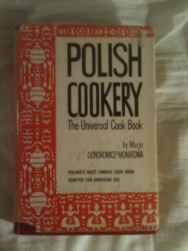 Polish Cookery (Universalna Ksiazka Kucharska) VG+ Copy